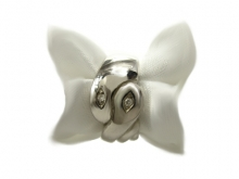 Anello NABA Young in argento 925/1000 con diamanti