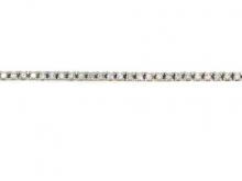 Bracciale in oro 750/1000 bianco con diamanti